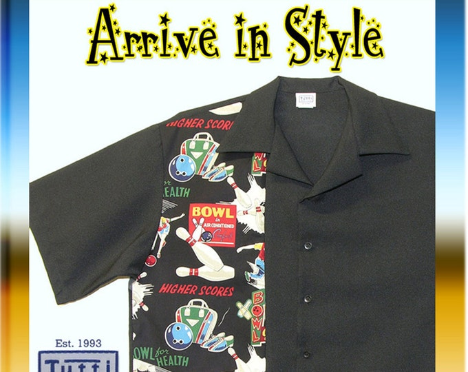 Bowling Shirts - Free Shipping - Retro 50s Vintage Graphic Design