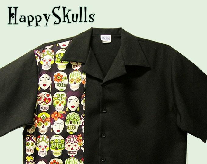Bowling Shirts - Free Shipping - Skulls