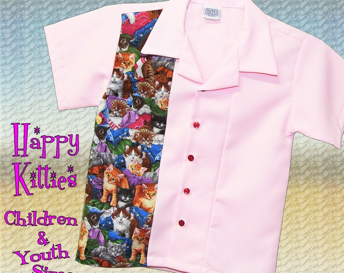 Kids Bowling Shirt - Free Shipping - New Girls Pink Bowling Shirts in Kids and Youth Sizes