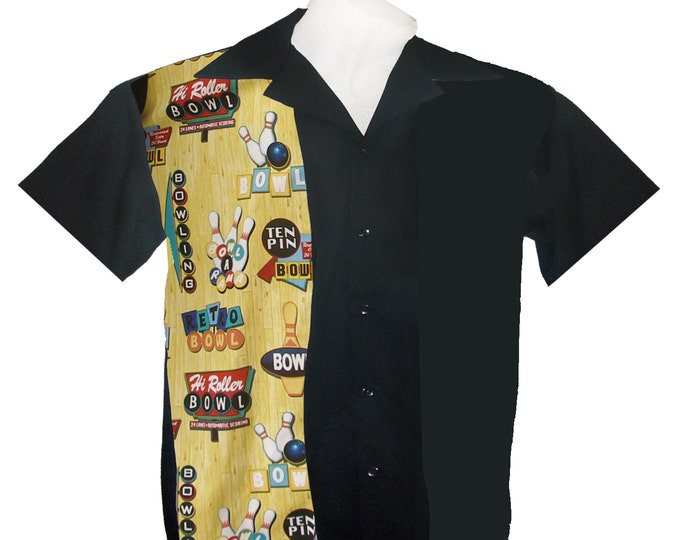 Kids Bowling Shirts - Free Shipping on All US Orders - Bowl-A-Rama Design