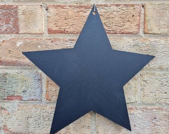 Star Chalkboard Blank Large Blackboard Memo Board, Choice of Design, Chalkboard Blackboard Large portrait, 30cm