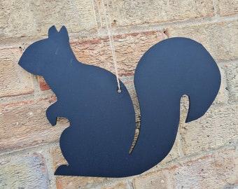 Squirrel Chalkboard Blank Large Blackboard Memo Board, Choice of Design, Chalkboard Blackboard Large portrait, 30cm