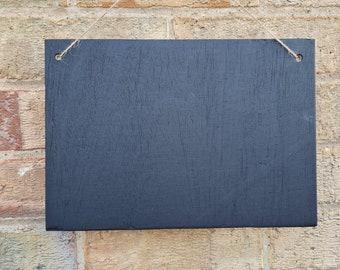 A4 Size Chalkboard Blank Large Blackboard Memo Board, Choice of Design, Chalkboard Blackboard Large portrait, 30cm