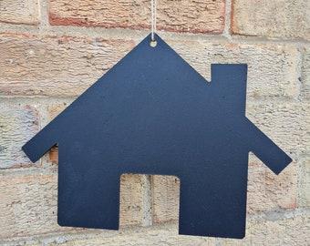 House Shaped Chalkboard Blank Large Blackboard Memo Board, Choice of Design, Chalkboard Blackboard Large portrait, 30cm
