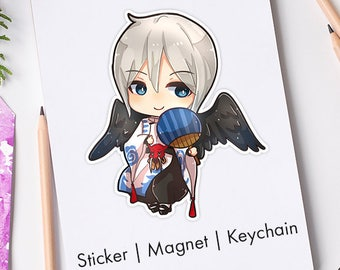 Ootengu from Onmyoji acrylic keychain,sticker vinyl waterproof ,magnet,cute charms
