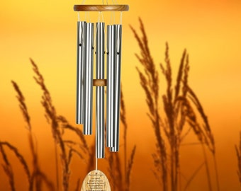 """22"""" The Lord's Prayer Wind Chime 