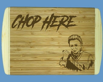 """Halloween Michael Myers Cutting Board 