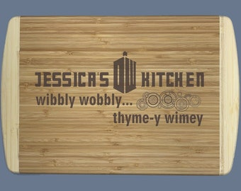 """Doctor Who Cutting Board 