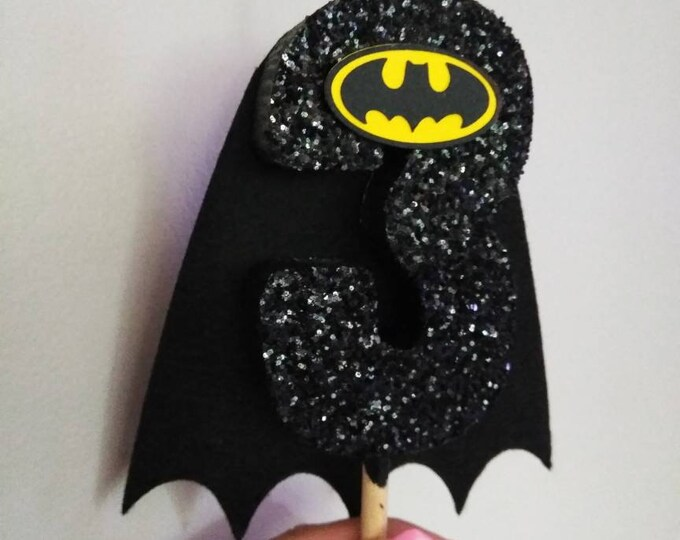 Batman birthday candle Batman girl birthday candle centerpiece cake topper marvel birthday party, birthday decoration