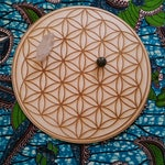 Flower of Life Grid - Crystal and Meditation