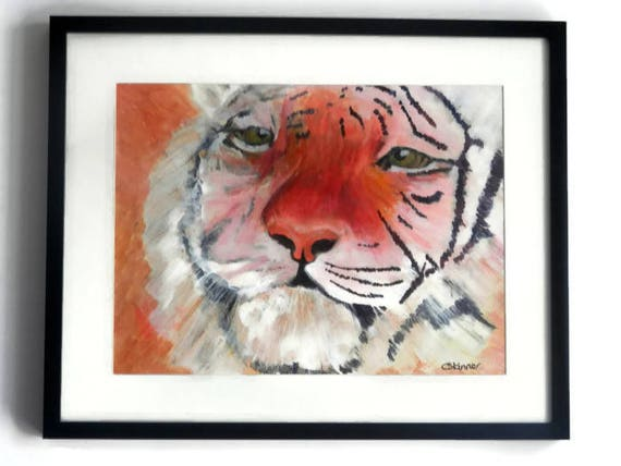 Papo Animale Selvatico REGNO Grande Tigre Animale da Collezione Donna Figura Nuovo
