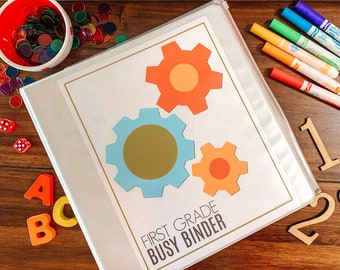 First Grade Busy Binder, Printable Educational Games, 1st Grade Curriculum, Homeschool Activities, Kids Math And Science, Learning To Read