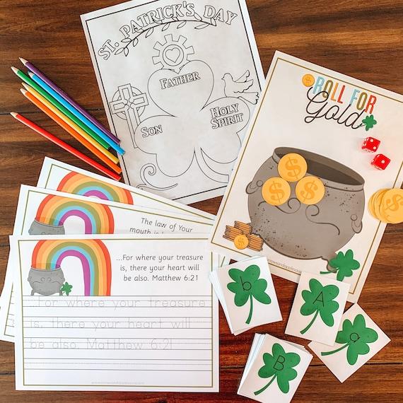 St. Patrick's Day Activity Pack Printable Saint