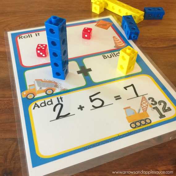 graphic regarding Printable Math Dice Games named Math Cube Sport, Printable Small children Addition Activity, Homeschool, Counting Educate, Snap Cubes Worksheet, Kindergarten Enlightening Studying Software