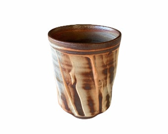 See Image 2. Free delivery in Australia. See image 2.  Tall Drinking Vessel Wood Fired