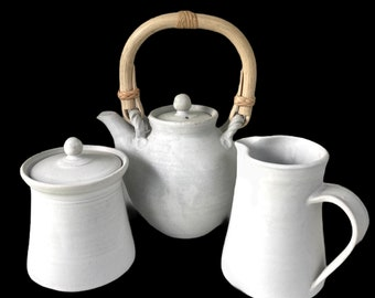 Tea set Teapot Milk & Sugar