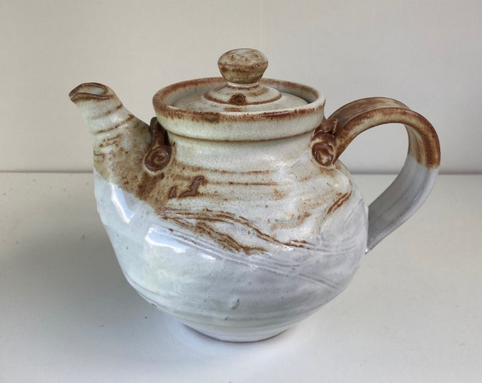 SOLD Side handled teapot with 2 cup capacity. 500 mls.  Free postage within Australia.