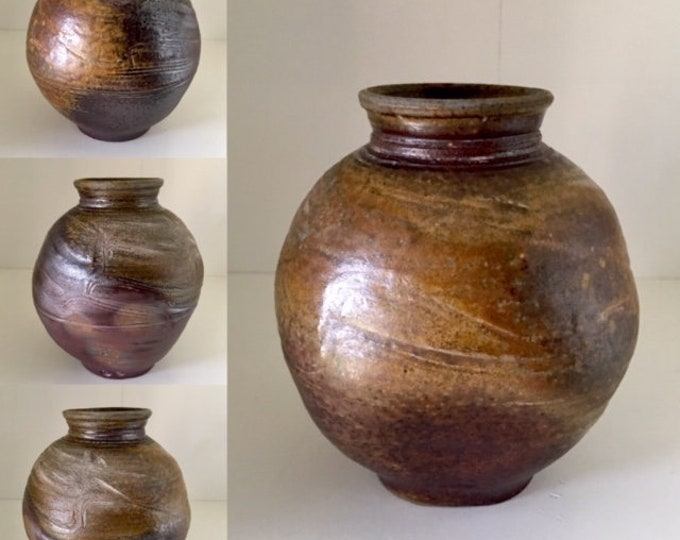 Free delivery in Australia.  'One of a Kind' collectable woodfired small blossom vase