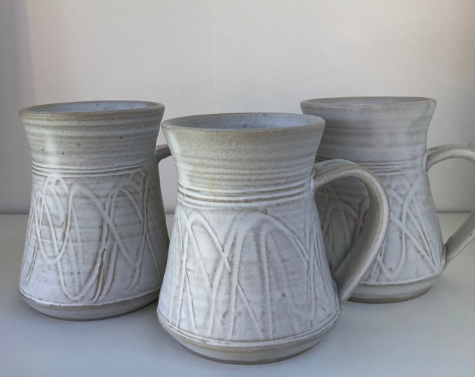 Free delivery in Australia. Coffee/tea mugs, generous handles 300 ml capacity