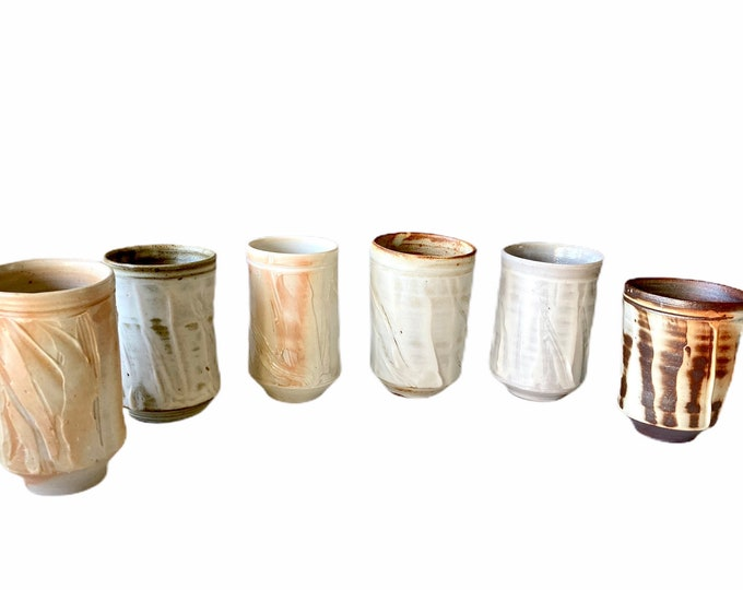 Free Delivery in Australia Handmade Tall Pottery Cup
