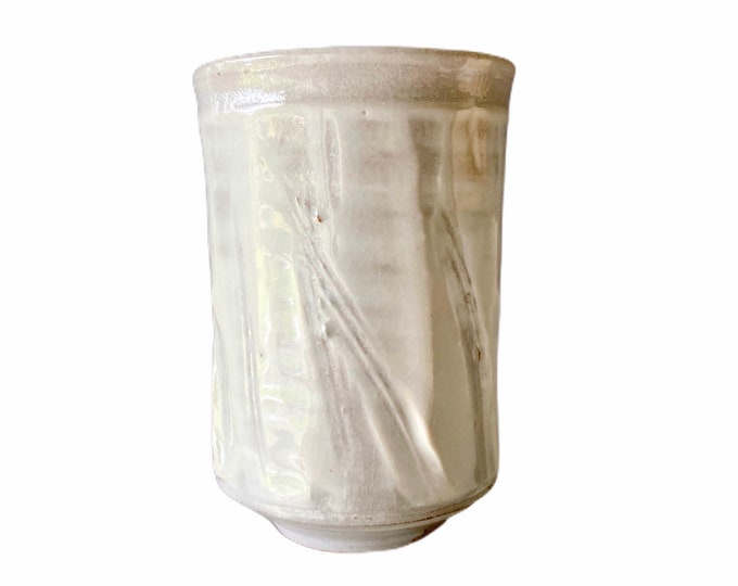 Free delivery in Australia. Vertical  Drinking Vessel. One of a kind however could be part of a mixed set