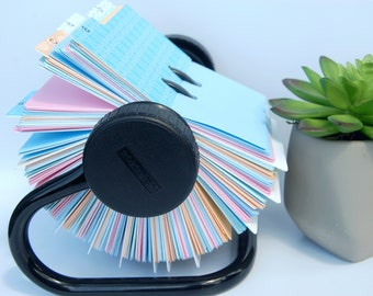 Rolodex Dividers - 1 Letter Per Card - Multi Pattern