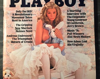 Playboy Magazine - April 1976