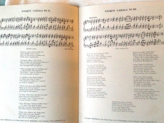 Old Christmas Carols.Old Christmas Carols Assorted Vintage Music Sheets Holiday Singing Celebrations Party