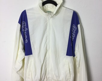 Satellite Truck Racing Jacket Vintage 80s Cafe Racer Bomber Norman Todd Mens Size Large