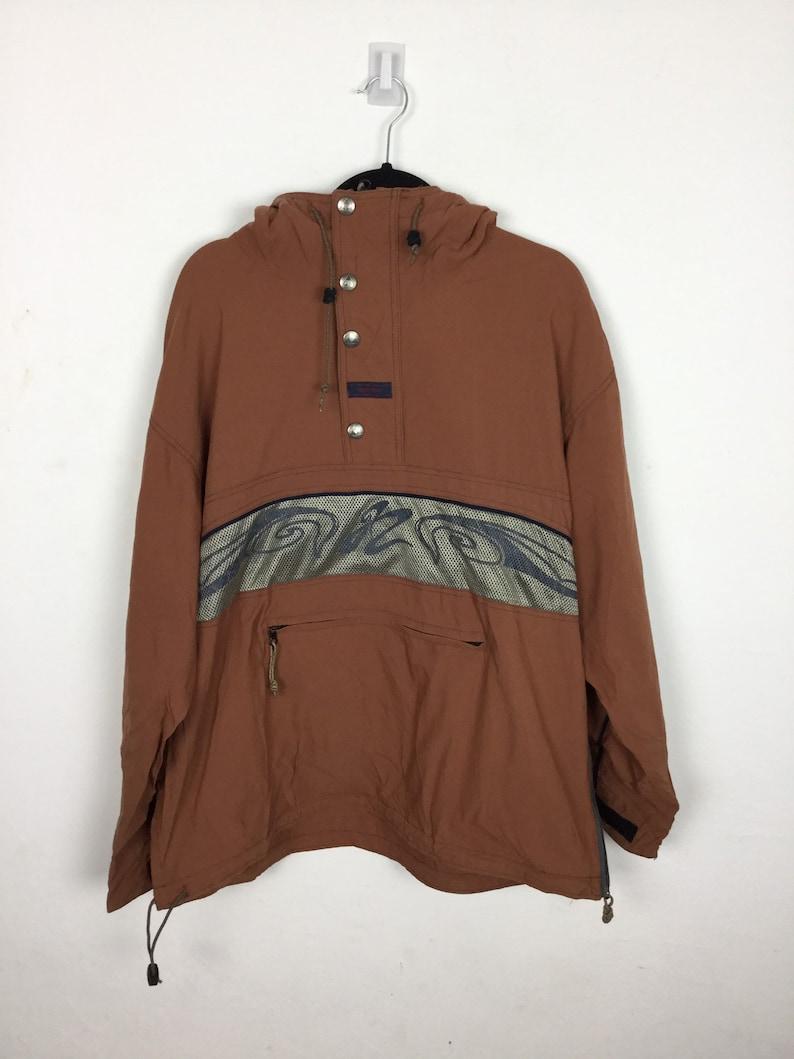 Vintage 90er Jahre Beipop Anorak Windbreaker Jacke Größe M