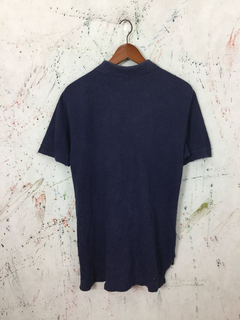 04dba419908a0 Vintage 90s Lacoste Polo Shirt Sport Casual Tennis Size M