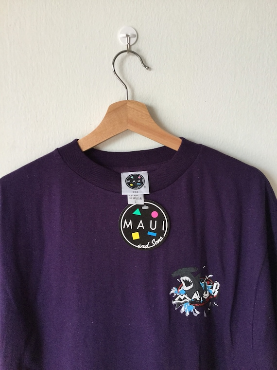 Vintage Maui And Sons Breaking Loose T Shirt