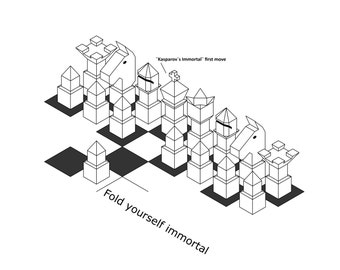 Fold your own Chess