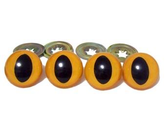 30 mm Cat Eyes x 4, Animal Eyes