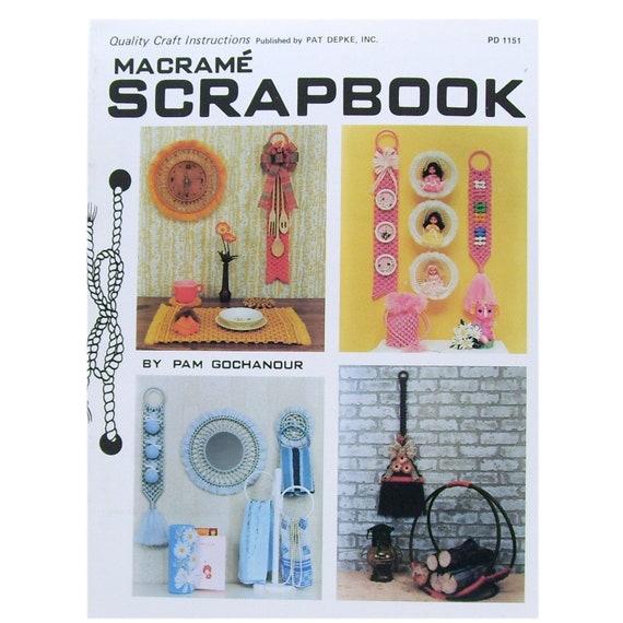 Towel Rings /& Wall Decor Patterns Craft Book:#PD1151 Macrame Scrapbook