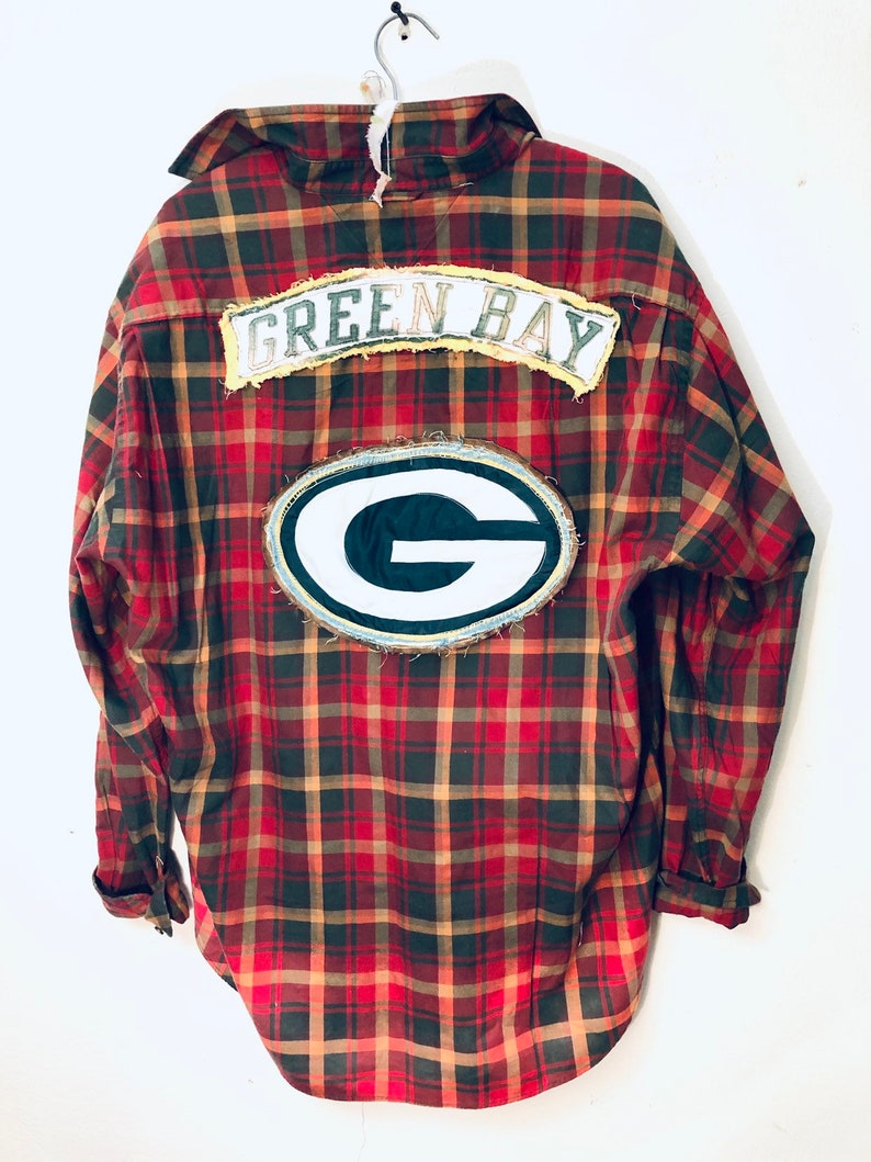 353c0435 Upcycled Retro Tommy Hilfiger lightweight oversized Green Bay | Etsy