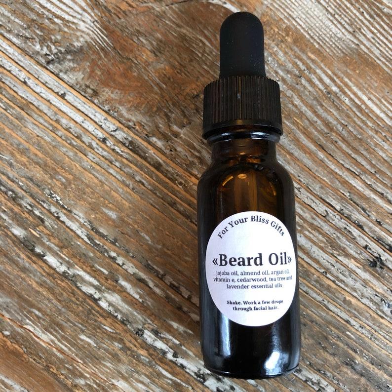 Beard Oil: Cedarwood, Tea Tree and Lavender