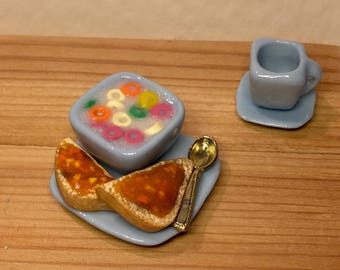 Handmade Thumbnail 112 and 16 Food for the doll doll house Pumpkin pie
