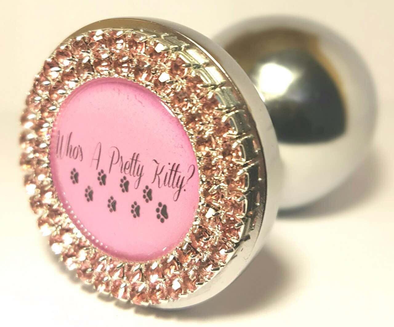 Matureadult Custom Bdsm Large Ddlg Diamante Sparkly Pink -7894