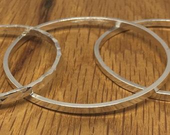 Square silver bangle, silver bangle, square bangle, handmade bangle, sterling silver bangle, square, bangle, silver