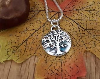 Tree-Of-Life Pendant, Life's Tree Necklace, Tree Of Life Necklace, Tree Of Life Jewellery, Silver Tree Of Life, Birthday Gift, Tree Of Life
