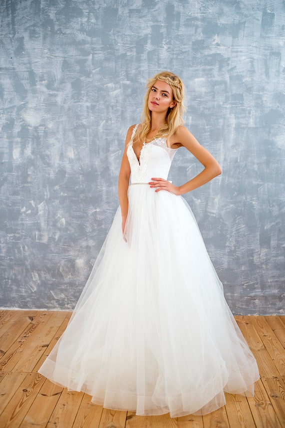 Horsehair Wedding Dress Bridal Dress Bridal Gown Corset Etsy