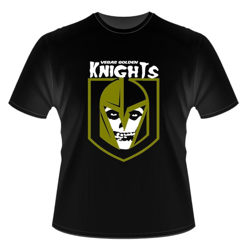 Vegas Golden Knights Misfits style shirt image 0