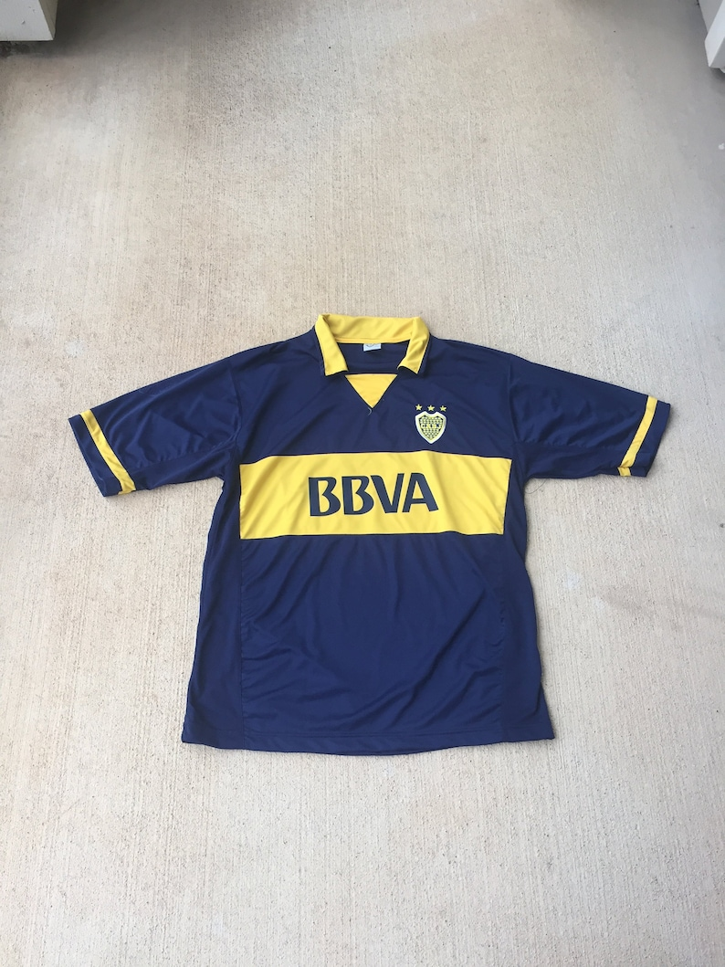 quality design 4b0e4 c269e Boca Juniors Soccer Jersey (Size Large) Club Atletico Boca Juniors Football  Argentina Soccer Jersey