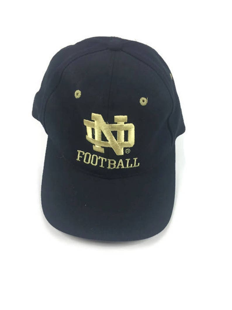 b1c104d0ab003 Vintage Notre Dame Snapback Hat Champion Hat Vintage Fighting