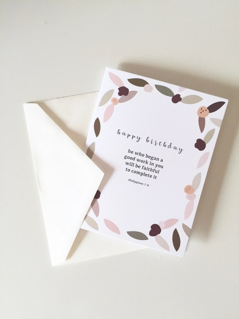 Happy Birthday Scripture Cards