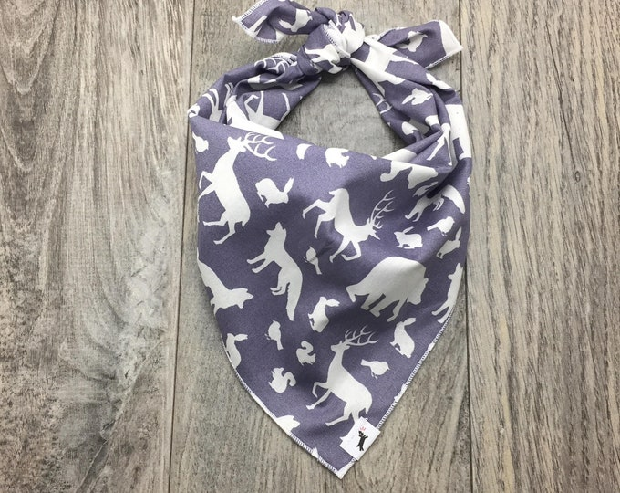 Animals in Nature Dog Bandana, Dog Bandana, Animal Dog Bandana, #dogs, Dog Scarf,