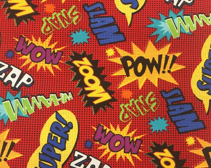 Superhero Dog Bandana, Superhero Bandana, Pet Bandana, Fun Dog Bandana, Tie On Bandana