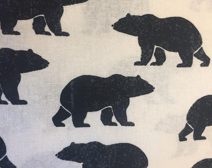 Bears Dog Bandana, Dog Bandana, Bear Bandana, Tie On Bandana,