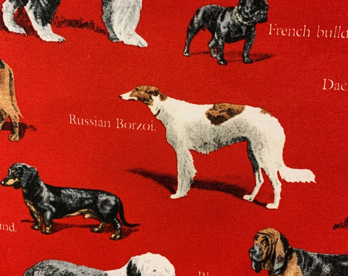 Dog Breed Dog Bandana, Fun Dog Bandana, Pet Bandana, Dog Bandana